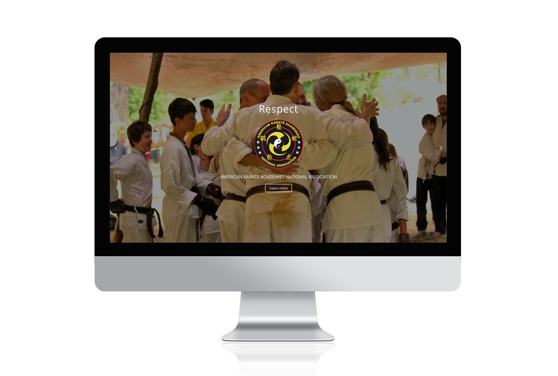 Akana.org karate web design