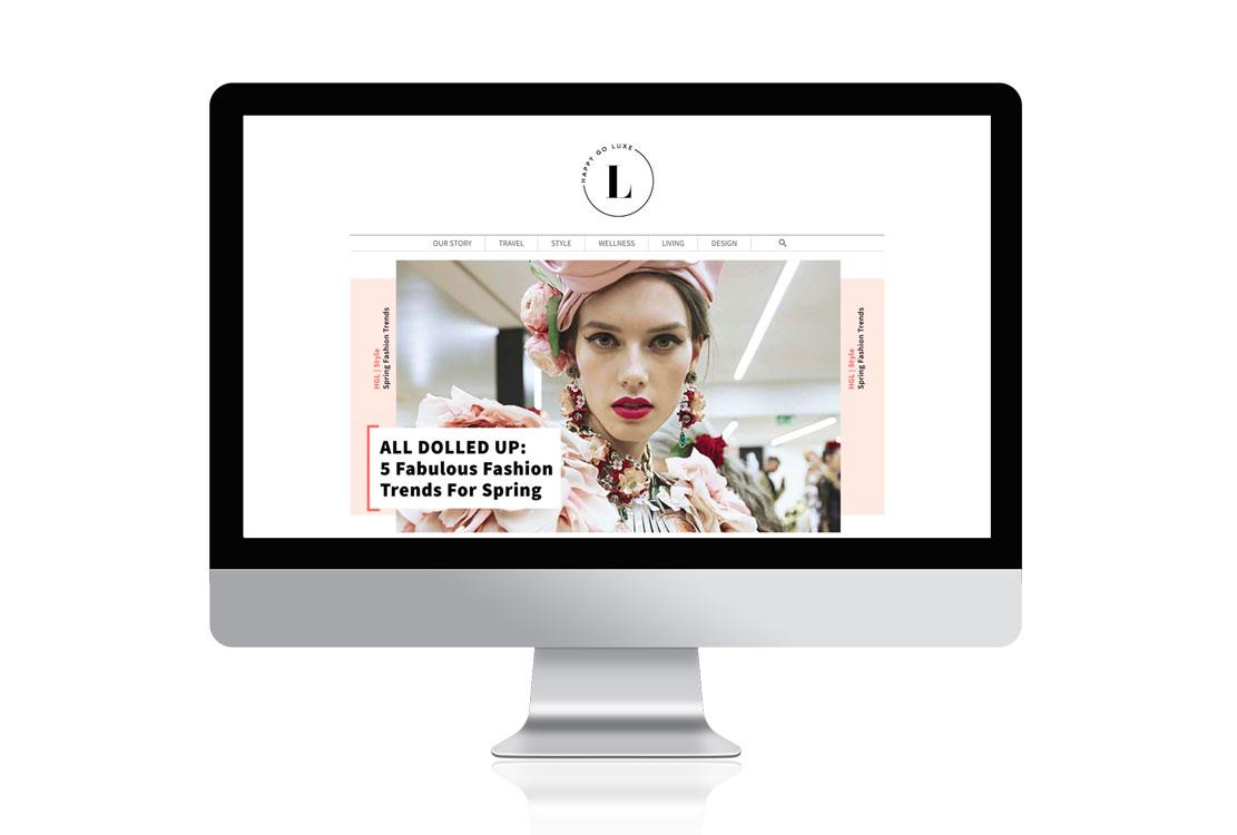 Happy Go Luxe lifestyle blog