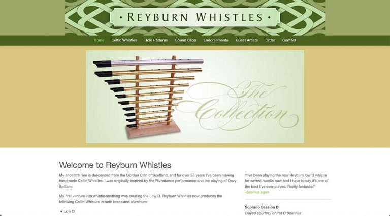 reyburnwhistles.com